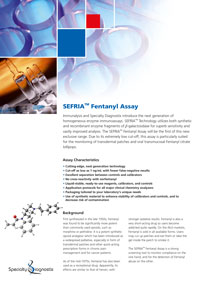 Specialty Diagnostix Sefria Fentanyl Assay