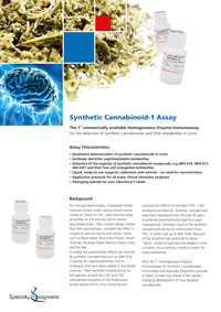 Specialty Diagnostix Synthetische Cannabinoide-1