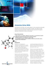 Specialty Diagnostix Ketamine Urine HEIA