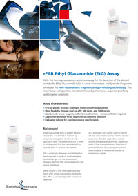 Specialty Diagnostix 6-AM Urine Assay