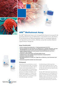 Specialty Diagnostix ARK Methotrexate Assay