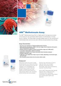 Specialty Diagnostix ARK Methotrexate Assay