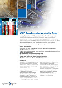 Specialty Diagnostix ARK Oxcarbazepine Metabolite Urine Assay