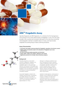 Specialty Diagnostix ARK Pregabalin Urine Assay