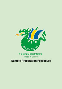 Specialty Diagnostix Atemanalyse Sample Preparation Procedure