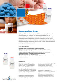 Specialty Diagnostix Buprenorphine Assay
