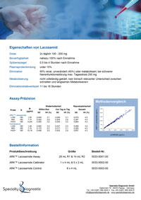 Specialty Diagnostix ARK Lacosamide Assay