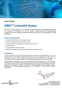 Specialty Diagnostix ARK Linezolid Assay