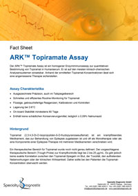 Specialty Diagnostix ARK Topiramate Assay