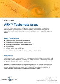 Specialty Diagnostix ARK Topiramate Assay