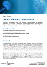 Specialty Diagnostix ARK Voriconazole II Assay